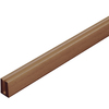 Barrette Cedar Vinyl Lattice Cap (Common: 3/4-in x 1-in x 8-ft; Actual: 0.745-in x 0.995-in x 8.02-ft)
