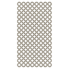 Clay Vinyl Traditional Lattice (Common: 1/8-in x 48-in x 8-ft; Actual: 0.15-in x 47.53-in x 7.92-ft)