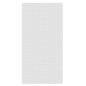 1/4-in x 4-ft x 8-ft White Privacy Vinyl Lattice