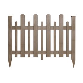 Shop Barrette 38 In X 47 In Wicker Vinyl Fence Panel At