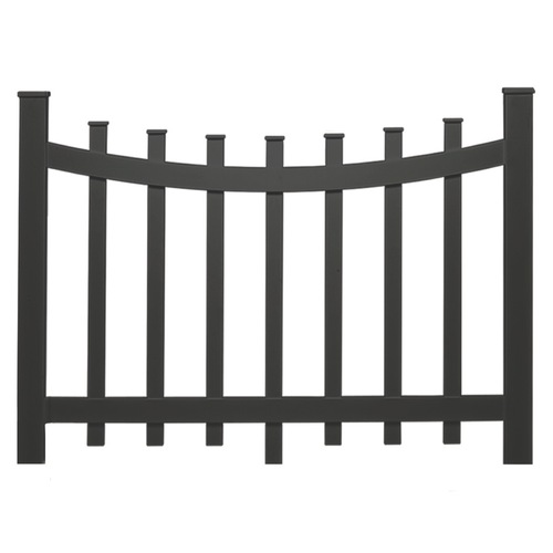 Swimming Pool Fence, B.O.C.A. Guidelines, Galvanized Steel