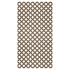 Barrette 0.2-in x 4-ft x 8-ft Brown Traditional Vinyl Lattice