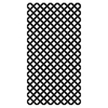 Barrette Black Vinyl Traditional Lattice (Common: 3/20-in x 48-in x 8-ft; Actual: 0.15-in x 47.53-in x 7.92-ft)