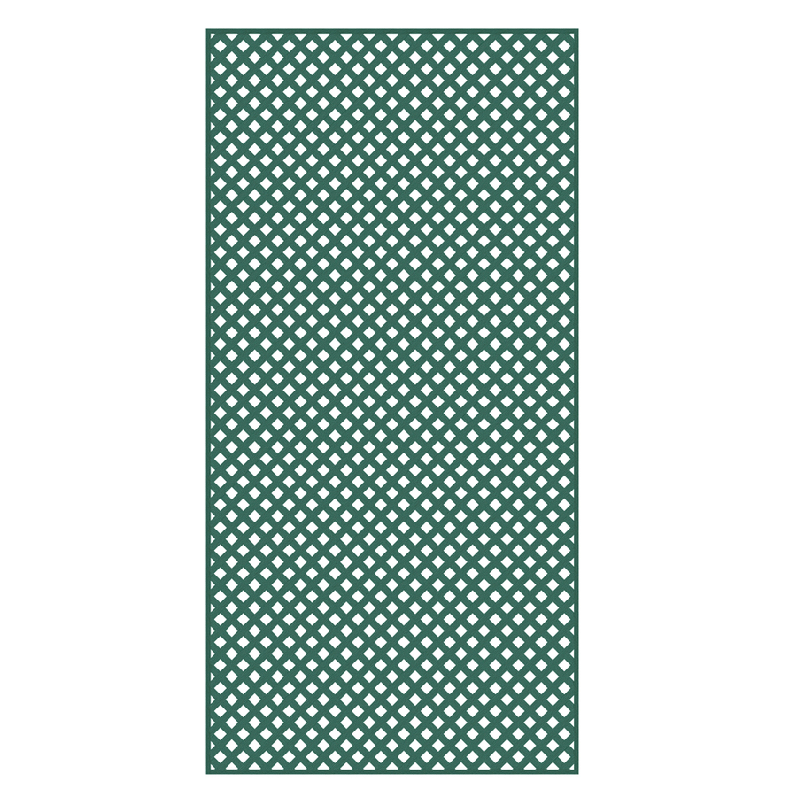 shop barrette 3 16 in x 4 ft x 8 ft green privacy vinyl
