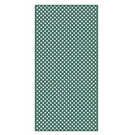 Barrette 1/4-in x 4-ft x 8-ft Green Privacy Vinyl Lattice