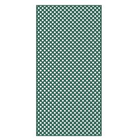 Barrette 3/16-in x 4-ft x 8-ft Green Privacy Vinyl Lattice