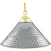 10-in H Polished Brass Wall-Mounted Lamp with Glass Shade