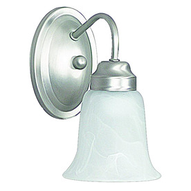 Shop Ashton Satin Nickel Bathroom Vanity Light at Lowes.com