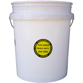 Shop encore plastics 5 gallon commercial bucket at for 5 gallon bucket of paint price