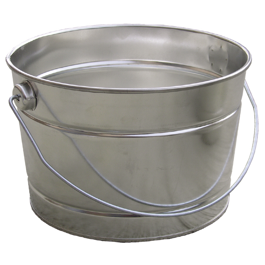 shop encore plastics 2 5 quart metal pail at