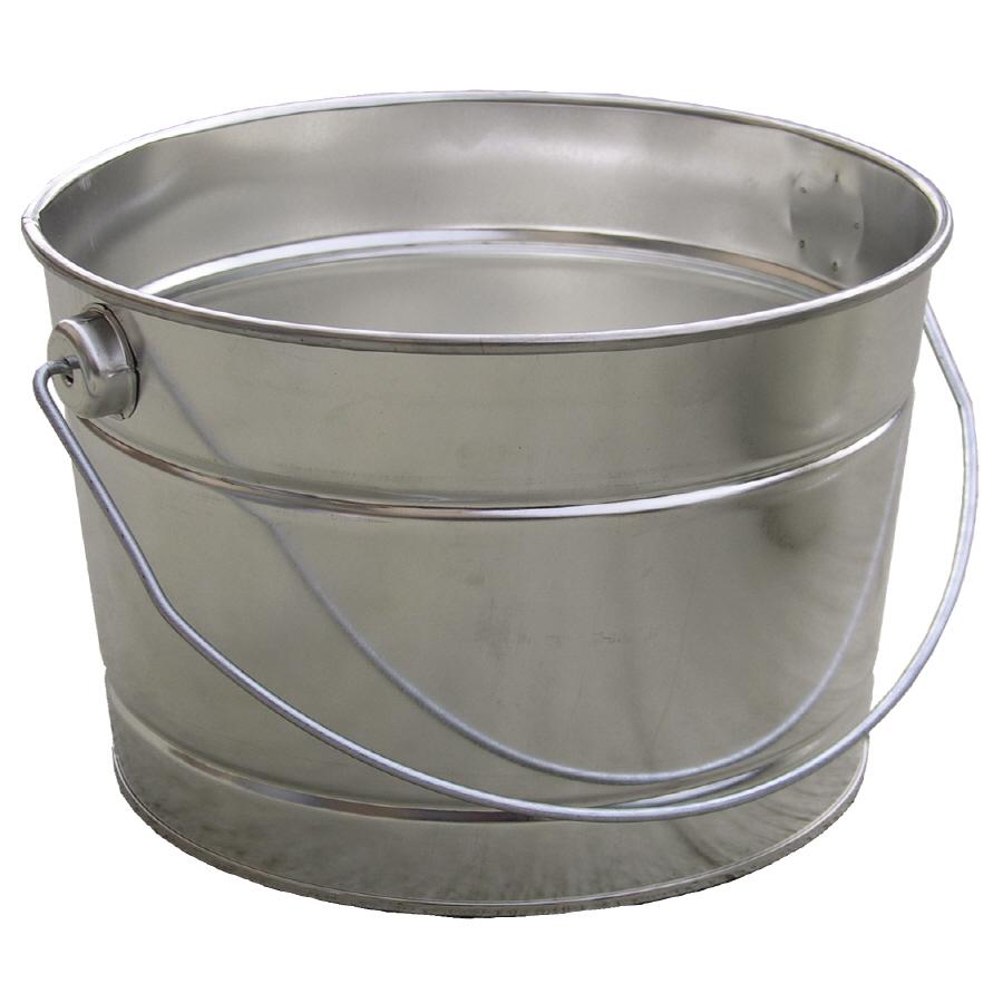 shop encore plastics 2 5 quart metal pail at
