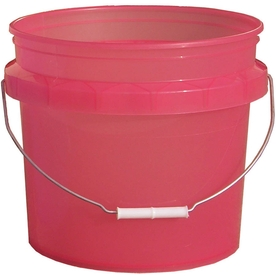 Shop encore plastics 3 5 gallon commercial bucket at for 5 gallon bucket of paint price