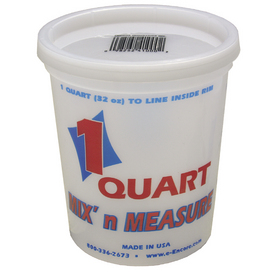 Encore Plastics 1 Quart Mix N&#039; Measure Container