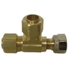 Watts 3/8-in x 3/8-in x 3/8-in Valve Compression Fitting