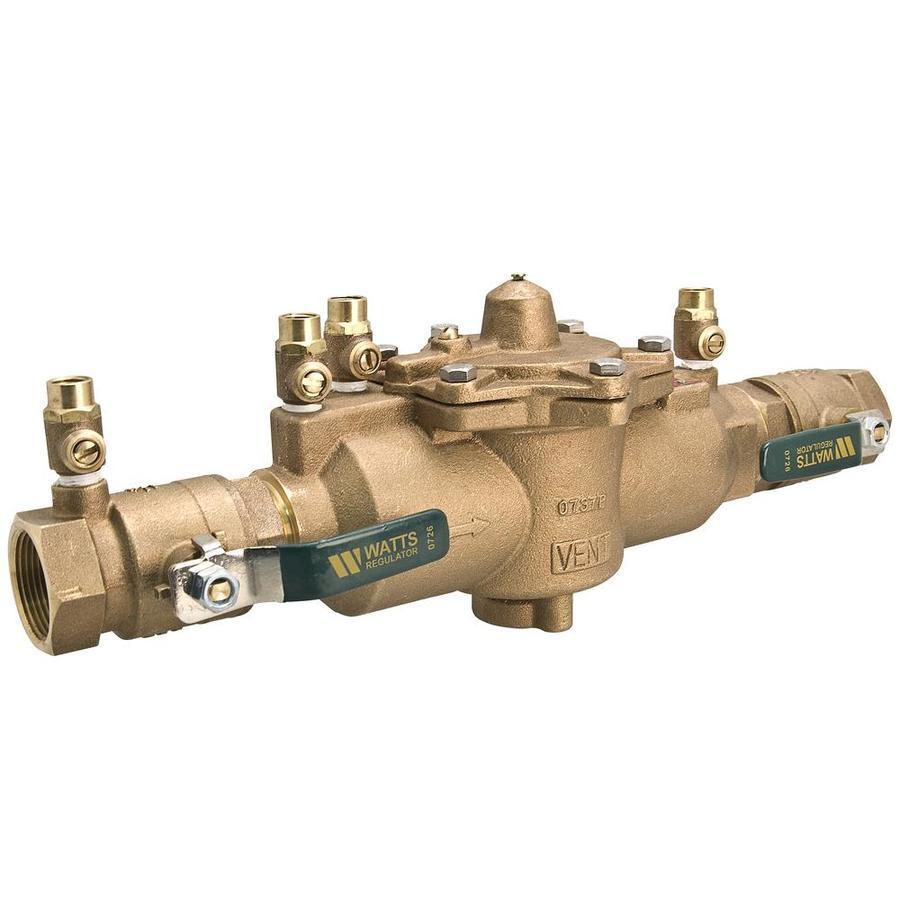 shop watts 1 in bronze female in line backflow preventer valve at. Black Bedroom Furniture Sets. Home Design Ideas