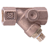 Watts 1-in Bronze Female In-Line Straight Valve