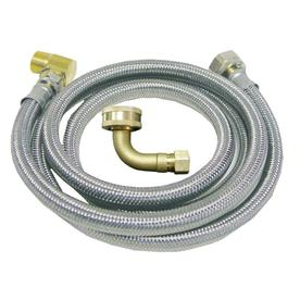 Watts 5-ft 125 PSI Braided Stainless Steel Dishwasher Connector