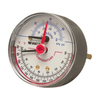 Watts 1/2-in Back Entry Pressure and Temperature Gauge