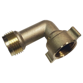 Watts 125 PSI Braided Rough Brass Washing Machine Connector
