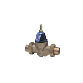 shop watts 3 4 in bronze compression in line pressure reducing valve at. Black Bedroom Furniture Sets. Home Design Ideas