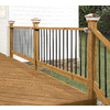 Top Choice Premium Alkaline Copper Quat Treated Decking (Common: 2-in x 4-in x 12-ft; Actual: 1.5-in x 3.5-in x 144-in)
