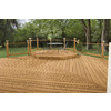 Top Choice Premium Alkaline Copper Quat Treated Decking (Common: 2-in x 6-in x 16-ft; Actual: 1.5-in x 5.5-in x 192-in)