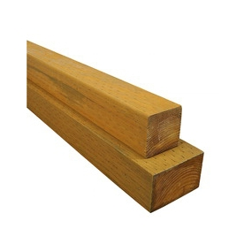 #2 Pressure Treated Lumber (Common: 4 x 4 x 8; Actual: 3-1/2-in x 3-1/2-in x 96-in)