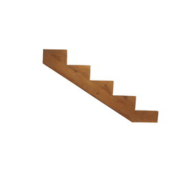 Top Choice 5-Step Pressure Treated Deck Stair Stringer
