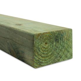 #2 Pressure Treated Lumber (Common: 4 x 6 x 16; Actual: 3.5625-in x 5.625-in x 192-in)