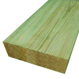 #2 Pressure Treated Lumber (Common: 4 x 8 x 16; Actual: 3.5625-in x 7.5-in x 192-in)