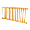 Top Choice Brown Pressure Treated Wood Southern Yellow Pine Deck Railing Kit (Assembled: 6-ft x 2.75-ft)