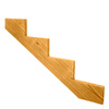 Top Choice 4-Step Pressure Treated Southern Yellow Pine Deck Stair Stringer