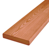 Severe Weather Cedar Radius Edge Pressure Treated Southern Yellow Pine Deck Board (Actual: 1-in x 5.4375-in x 16-ft)