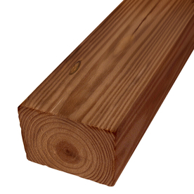 Severe Weather Pressure Treated Southern Yellow Pine Lumber (Common: 4-in x 6-in x 12-ft; Actual: 3.5-in x 5.5-in x 12-ft)