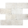 8-Pack 3-in x 6-in Ivory Natural Stone Wall Tile