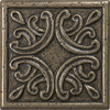 4-in x 4-in Bronze Metal Square Accent Tile