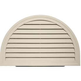 "HRDGV TAN (A7) 34""X22"" HALFRND GABLE VENT (1 PC/CTN)"