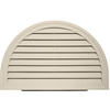  HRDGV TAN &#40;A7&#41; 34&#34;X22&#34; HALFRND GABLE VENT &#40;1 PC/CTN&#41;