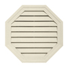 0CTGV CREAM &#40;PB&#41; 22&#34; OCTAGONGABLE VENT &#40;1 PC/CTN&#41;