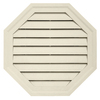 Durabuilt 22-in x 22-in Cream/Pebble Octagon Plastic Gable Vent