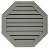 Durabuilt 22-in x 22-in Sagebrook/Pebble Octagon Plastic Gable Vent