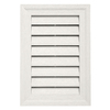 Durabuilt 14-in x 20-in Linen/Pebble Rectangle Plastic Gable Vent