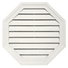 Durabuilt 22-in x 22-in Linen/Pebble Octagon Plastic Gable Vent