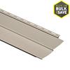 Durabuilt 8-in x 150-in Stone Clay Traditional Vinyl Siding Panel