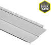 Durabuilt 8-in x 150-in Gray Traditional Vinyl Siding Panel