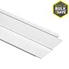 Durabuilt 8-in x 150-in White Traditional Vinyl Siding Panel