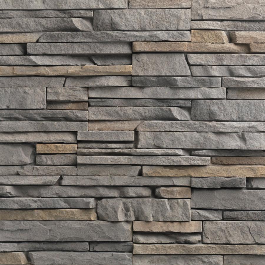 Shop Ply Gem Stone 10 Sq Ft Tuscarora Easy Stack Stone Veneer At