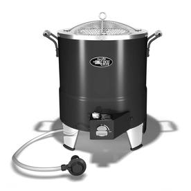 Char-Broil Big Easy Oil-Less 24-in 20 lb Cylinder Electronic Ignition Infrared Turkey Fryer
