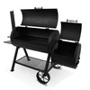 Oklahoma Joe's Longhorn 1060 Sq.-in Charcoal Horizontal Smoker