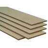 3/4-in x 12-in x 8-ft MDF Bullnose-Edged Shelf